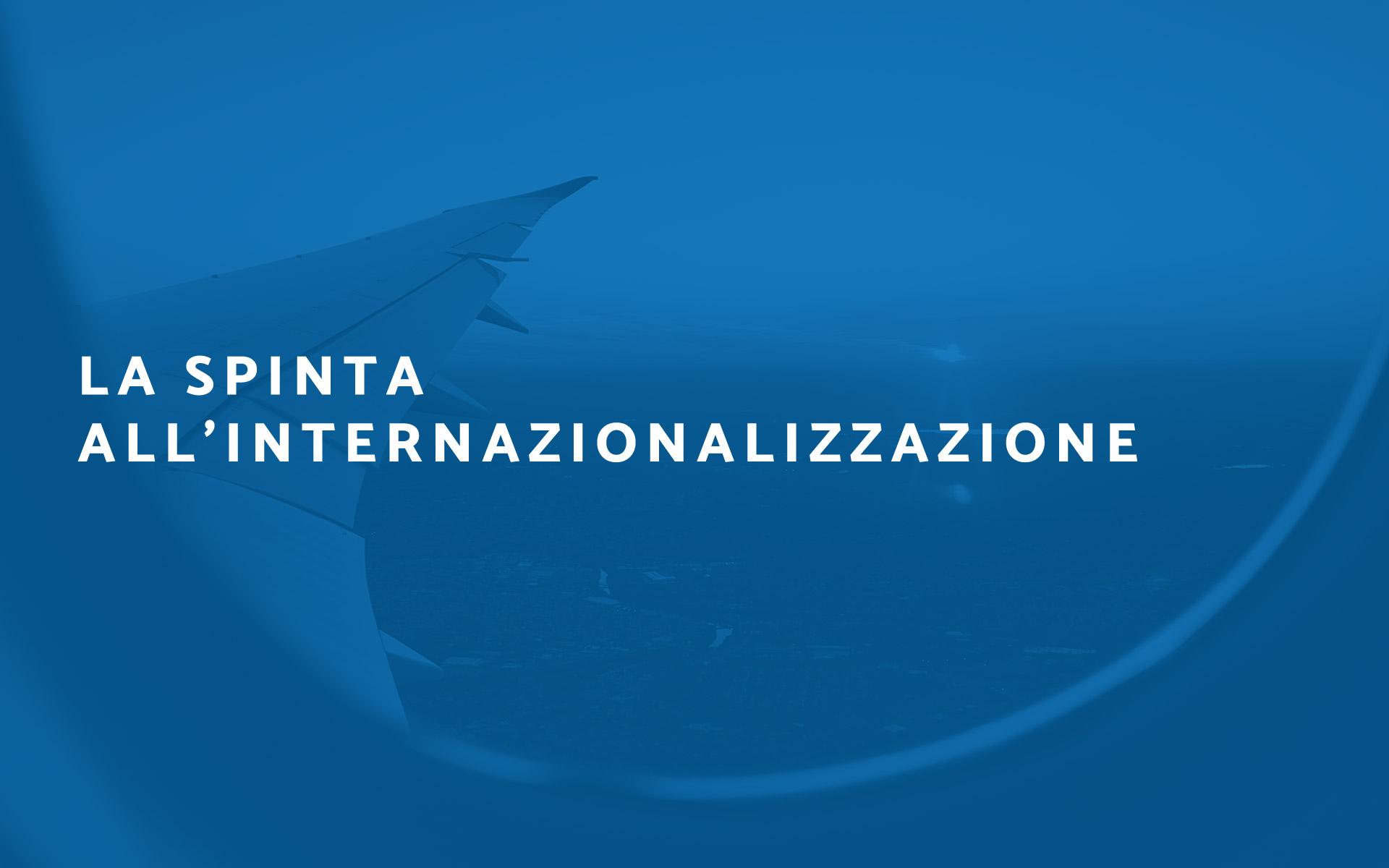 Spinta internazionalizzazione